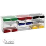 Storage Rack for Microscope Slide Boxes