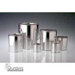 Linerless Round Paint Cans | Quasar Instruments