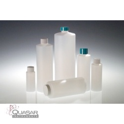 Natural HDPE Cylinders, Cleaned & Certified for Volatiles Level 3 | Quasar Instruments