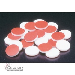 Red PTFE/Silicone Septa | Quasar Instruments