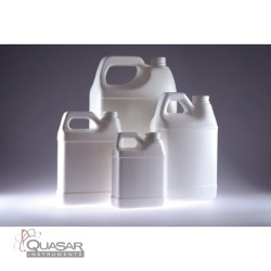 White HDPE F-Style Jug | Quasar Instruments